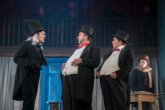 A CHRISTMAS CAROL by Dickens, , Writer Charles Dickens, Created by Spymonkey, Ed Gaughan, Matthew Crosby, Sophie Russell & Alice Power, Director - Ed Gaughan, Designer - Alice Power, Liverpool Playhouse, 2018, Credit: Johan Persson/