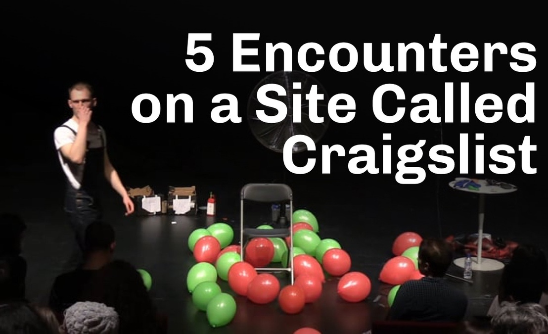Five Encounters On A Site Called Craigslist (Onlinereview)