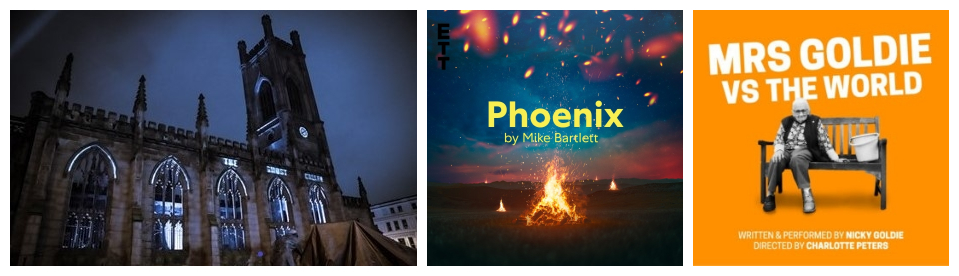 The Ghost Caller/Phoenix/Mrs Goldie vs The World (Online review)