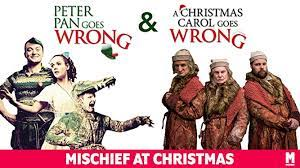 Peter Pan Goes Wrong/A Christmas Carol Goes Wrong (Onlinereview)
