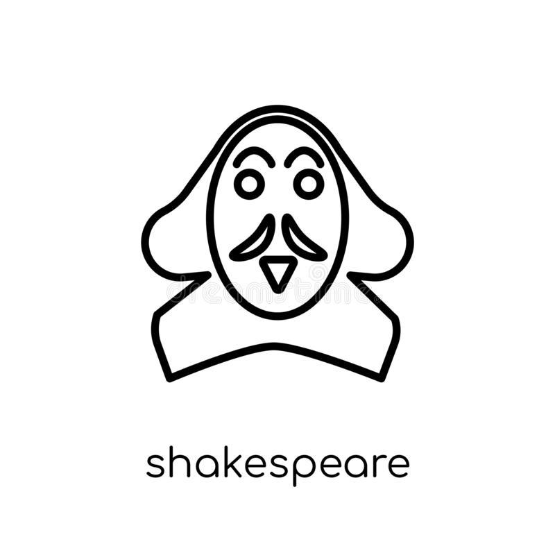 shakespeare-icon-trendy-modern-flat-linear-vector-shakespeare-i-shakespeare-icon-trendy-modern-flat-linear-vector-shakespeare-icon-130939671