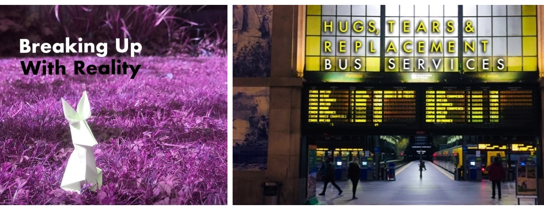 Breaking Up With Reality/ Hugs Tears And Replacement Bus Services (Onlinereview)